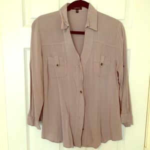 Spense Ladies Casual Button-Down